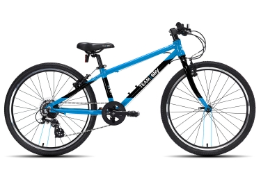 Frog Bikes 62 Team Sky 24´´ 8 Speed Blue Black