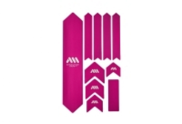 ALL MOUNTAIN STYLE XL Frame Guard Kit - 10 pcs - Pink White