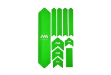 ALL MOUNTAIN STYLE XL Frame Guard Kit - 10 pcs - Green White