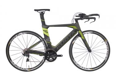 velo de triathlon kuota 2018 kt03 shimano ultegra r8000 11v gris vert m 167 175 cm