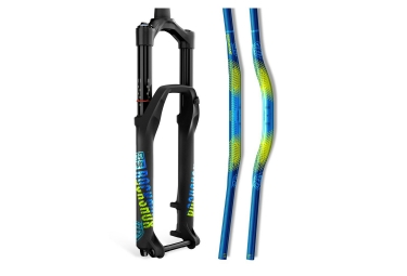 RockShox Decal Kit Troy Lee Design 35mm Blue / Yellow