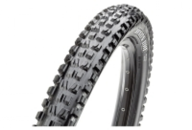 Pneu vtt maxxis minion dhf 27 5 tubeless ready souple dh 3c maxxgrip wide trail wt 2