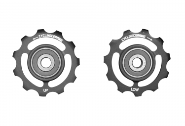 Galets CyclingCeramic Shimano 10/11v Noir