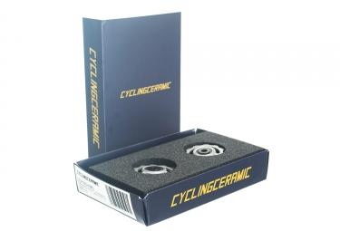 cyclingceramic jockey wheels shimano 9 10s silver - CyclingCeramic