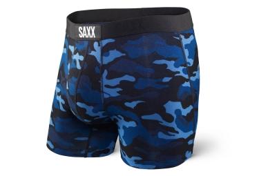 Boxer Saxx Vibe Camo Bleu Noir