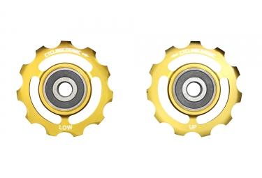 CiclismoCeramic Jockey Wheels Campagnolo 11s (Edición Limitada Gold)