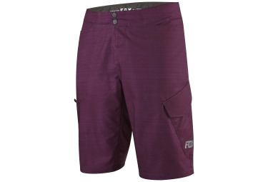 shorts avec peau fox ranger cargo heather bordeaux 32