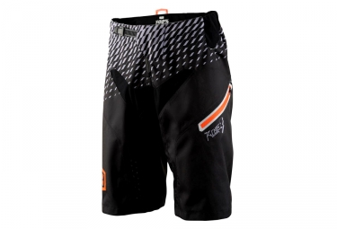 Short 100 r core supra noir gris orange 32