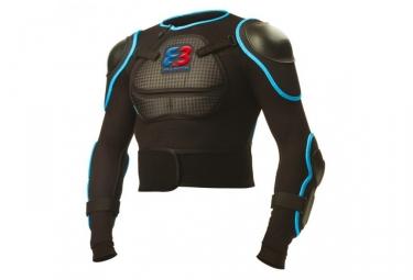 Veste de protection parts 8 3 gangsta noir bleu s