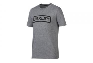 t shirt oakley o tab gris l