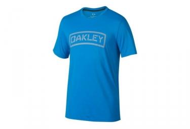 t shirt oakley o tab bleu s