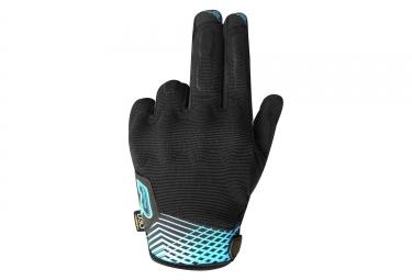 Paire de Gants Longs Racer Rock 2 Noir Bleu