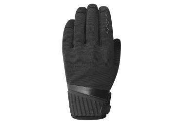 Paire de gants longs enfant racer roca kid noir xxs