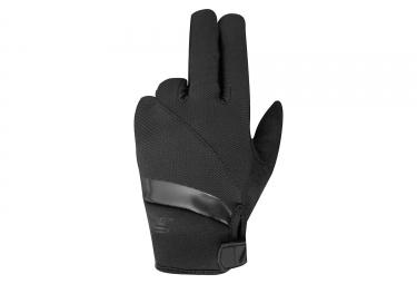 Paire de gants longs enfant racer gp style kid noir xs