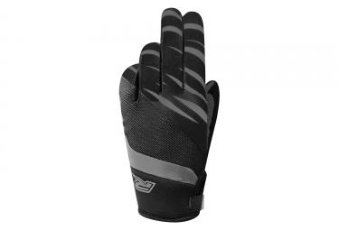 paire de gants longs racer gp style noir gris s