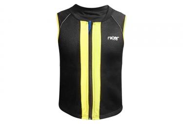 Veste de protection enfant racer turtle vest noir jaune xxs