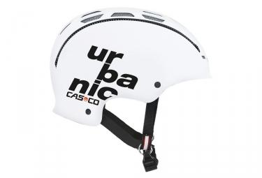 casque casco 2018 urbanic blanc m 56 59 cm