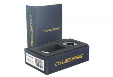 boitier de pedalier cyclingceramic bsa shimano argent