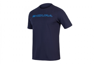 t shirt technique endura one clan carbon bleu m