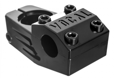 Vocal Flathead Top Load Stem Black