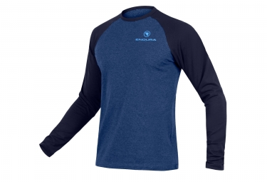 Endura One Clan Raglan Tech T-Shirt Blue