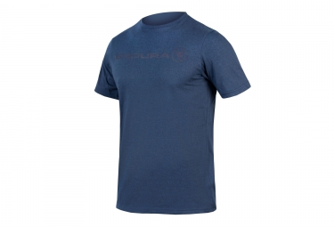 t shirt technique manches courtes endura one clan light bleu xl