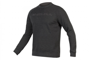 sweat endura one clan crew neck gris l