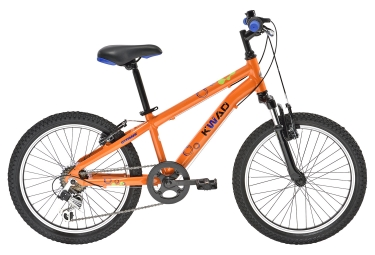 Doublon ymg406 orange vtt enfant gitane kwad 20 6 vitesses orange