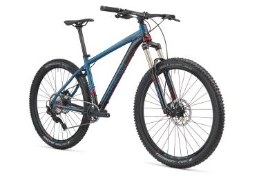 Vtt semi rigide saracen mantra trail 27 5 shimano deore 10v bleu gris 2018 17 pouces