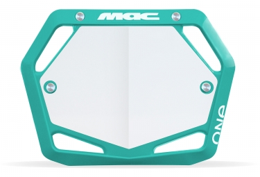 Image of Plaque mac one mini turquoise