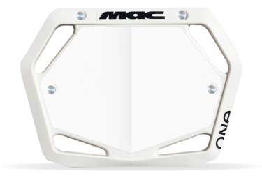Plaque Mac One Mini Blanc