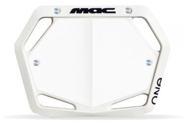 Plaque Mac One Mini Blanc