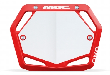 plaque mac one mini rouge