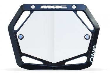 Mac One Mini Plate Black