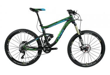 Vtt tout suspendu viper 2017 fiery am 27 5 shimano xt 10v noir bleu vert s 160 170 cm