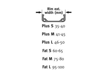 Kit Tubeless Effetto Mariposa Caffélatex Strip 26/27.5'' Plus/Fat