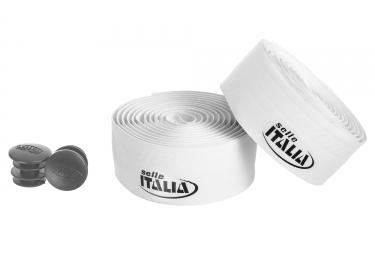 Ruban de guidon selle italia smootape controllo blanc