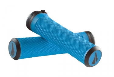 SDG Slater Lock-on Grips Blue
