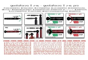 Effetto Mariposa Torque Wrenche Guistaforza II 2-16 Nm Deluxe