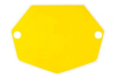 Fond de plaque mac one mini jaune