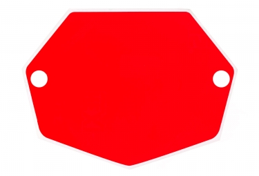 Image of Fond de plaque mac one mini rouge