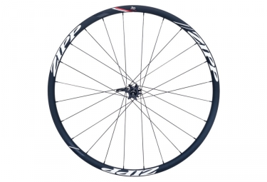 roue avant zipp 30 course disc boyau 15 12 9x100mm stickers blanc