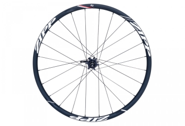 roue arriere zipp 30 course disc boyau 9 12x135 142mm corps campagnolo stickers blanc