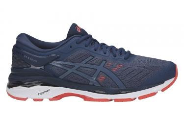 chaussures de running asics gel kayano 24 bleu marine 44