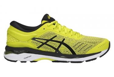 chaussures de running asics gel kayano 24 jaune noir 46