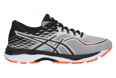 chaussures de running asics gel cumulus 19 gris orange 42