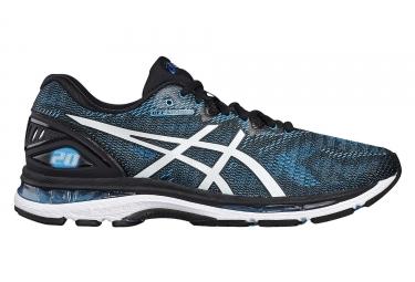 chaussures de running asics gel nimbus 20 noir bleu 45