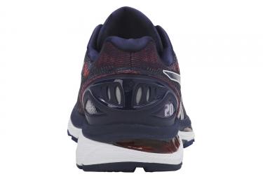 Chaussures de Running Asics Gel-Nimbus 20 Rouge / Bleu