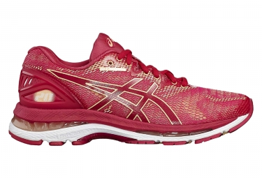 chaussures de running femme asics gel nimbus 20 rose 39