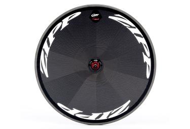 roue arriere zipp super 9 carbon disc pneu 9x130mm corps shimano sram stickers blanc